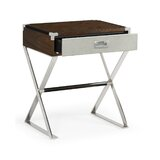 Campaign 1 Drawer Nightstand by Jonathan Charles Fine Furniture