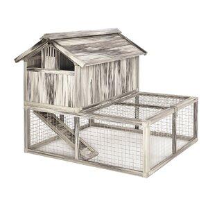 Hen Havenu2122 Composite Plastic/Wood Chicken Coop