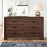 Rochelle 6 Drawer Double Dresser by Union Rustic