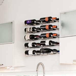 Vino Pin Series 1 Bottle Wall Mounted Wine Rack (Set of 2) by VintageView