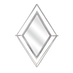 Brayden Studio Patro Diamond Accent Mirror