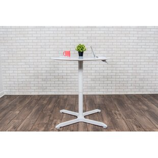 Round Adjustable Height Cafe Table