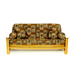 Brazil Box Cushion Futon Slipcover by Lifestyle Covers