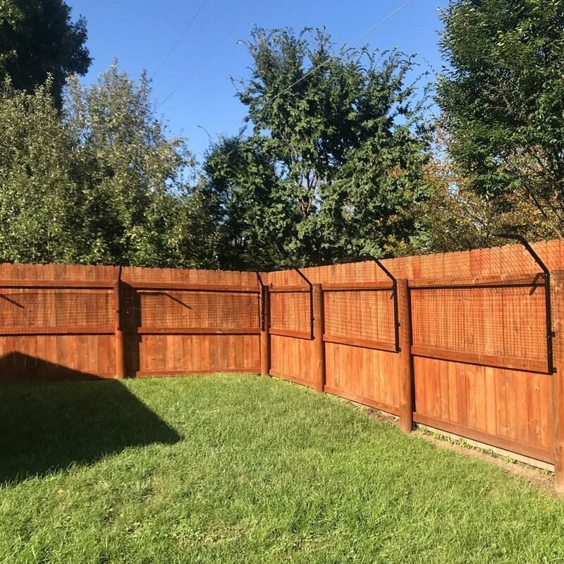 Dog Proofer Houdini-Proof Fence Extension System Kit With