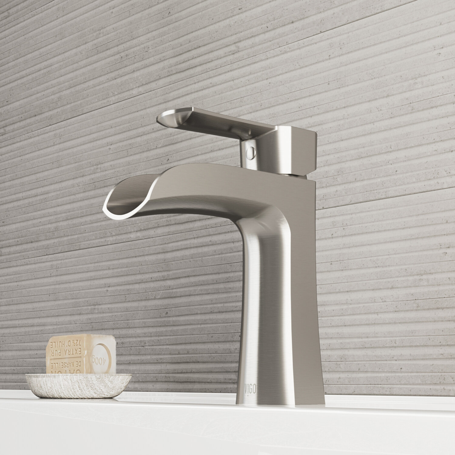 VIGO Paloma Single Hole Bathroom Faucet & Reviews | Wayfair