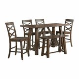 Bailee 6 - Piece Counter Height Dining Set by Laurel Foundry Modern Farmhouse