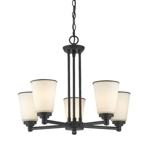 Hwang 5-Light Shaded Chandelier by Bloomsbury Market