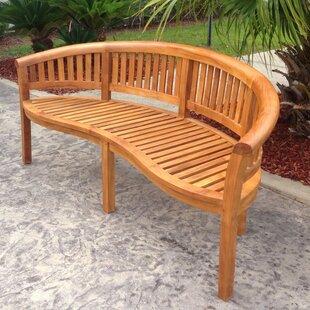 Peanut Teak Garden Bench