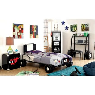 Best Reviews Bromsgrove Twin Car Configurable Bedroom Set ByZoomie Kids