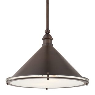 Latitude Run Luz 2-Light Bowl Pendant
