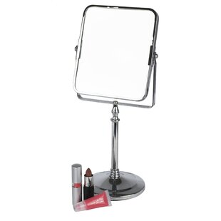 Deals Square Freestanding Cosmetic Mirror By Home Basics