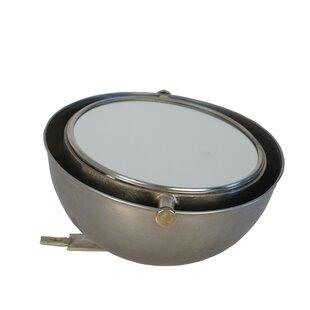 Brayden Studio Bloss Metal Adjustable Accent Mirror