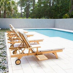 Bahama Teak Chaise Lounge