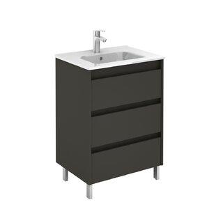 Mallie 24 Single Bathroom Vanity Set Set of 2 by Orren Ellis