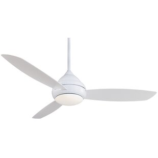 Best Choices 58 Concept I Wet 3 Blade LED Ceiling Fan By Minka Aire