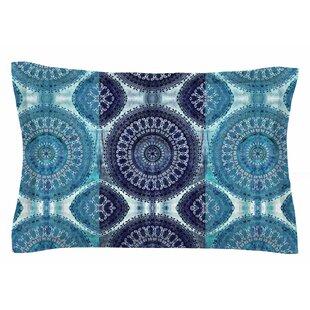 Nina May 'Blue Mandala Stripe' Digital Sham