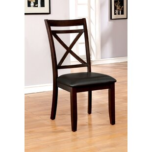 Haraway Upholstered Dining Chair (Set of 2) Gracie Oaks