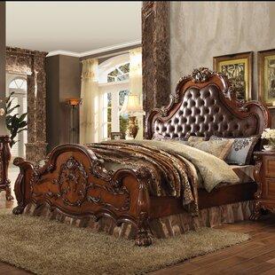 Astoria Grand Welliver Upholstered Panel Bed