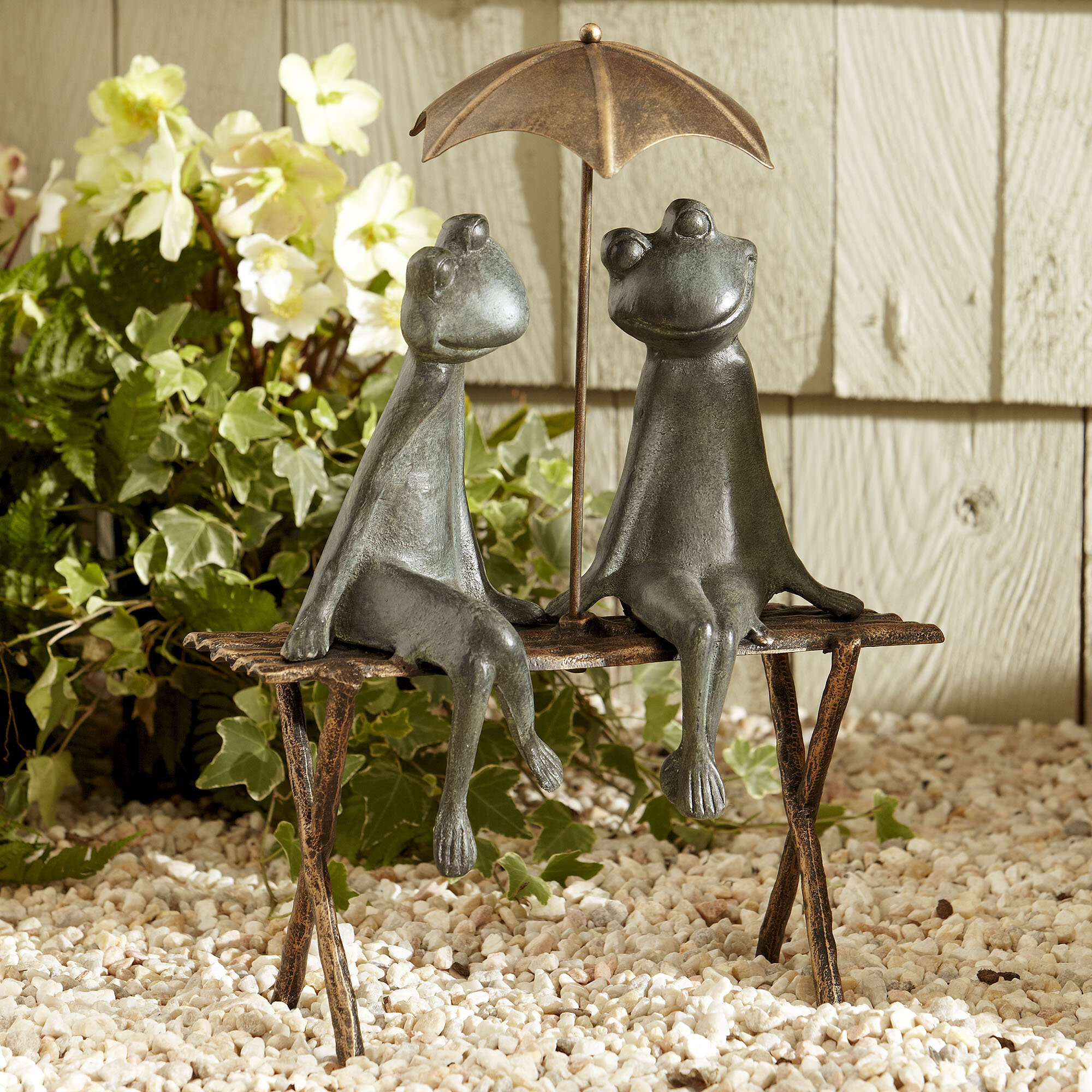 Birch Lane™ Frogs Garden Statue & Reviews | Wayfair