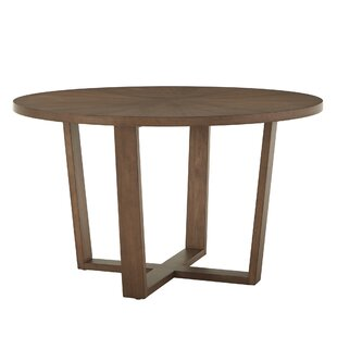 Veronika Solid Wood Dining Table Wrought Studio