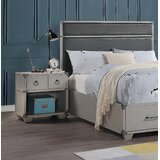 Mcclendon 1 Drawer Nightstand by Longshore Tides