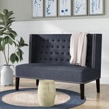 Bianchi Upholstered Bench by Canora Grey