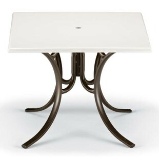 Werzalit Square Deluxe Dining Table by Telescope Casual
