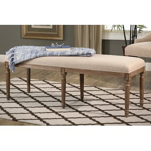 One Allium Way Osterhout Upholstered Bench