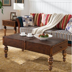 Gilded Classics Coffee Table Trunk by Leick Furniture