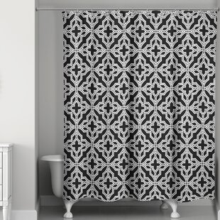 Kennelly Tile Single Shower Curtain