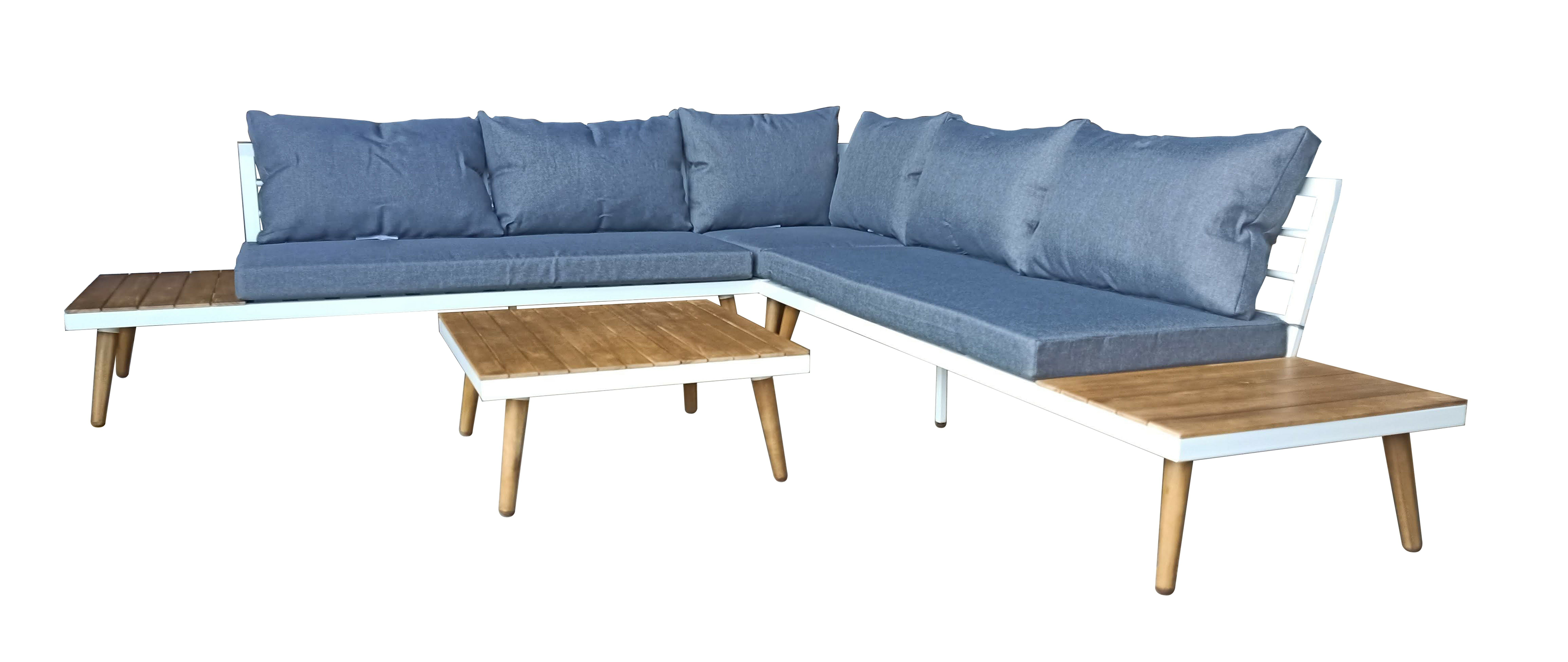 Corrigan Studio Penney 2 Piece Sectional Seating Group with