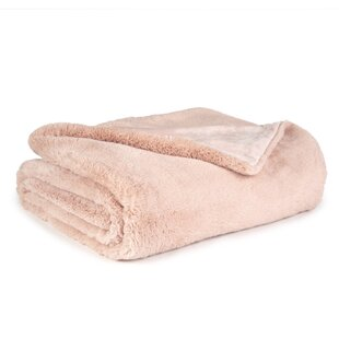 Mabry Super Soft Double Layer Faux Fur Throw