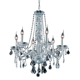 Astoria Grand Petties 6-Light Candle Style Chandelier