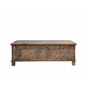 Ivaan Trunk Coffee Table with Lift Top