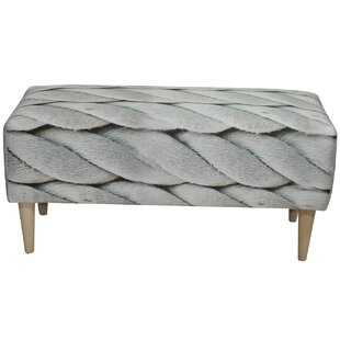 Marine Upholstered Bench By MONKEY MACHINE