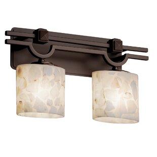 Rosecliff Heights Crosson 2-Light Vanity Light