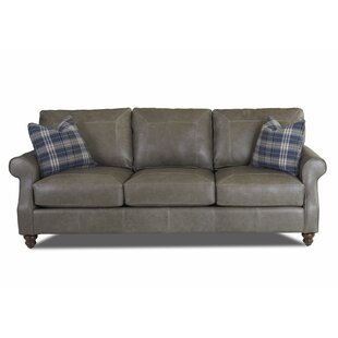 Affordable Belloreid Extra Large Leather Sofa by Canora Grey Reviews (2019) & Buyer's Guide