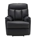 Faux Leather Power Lift Assist Recliner by Latitude Run®