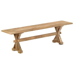 Violetta Wood Bench By Union Rustic