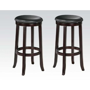Emmitt 29 Swivel Bar Stool (Set of 2) DarHome Co