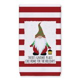 There's Gnome Place Like Home Tea Towel