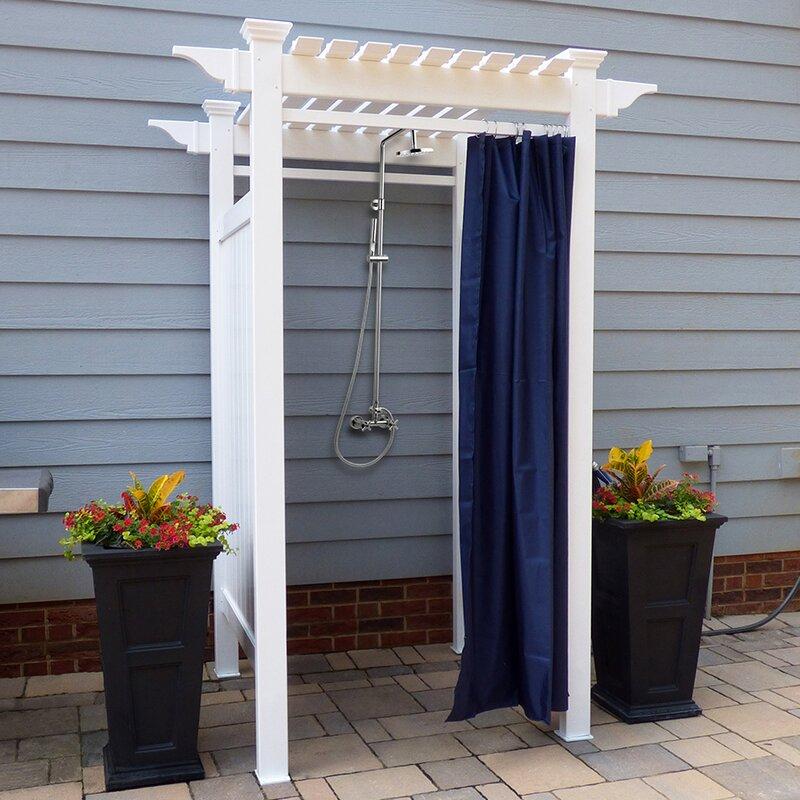 Zippity Outdoor Products Oceanside Outdoor Shower Reviews Wayfair