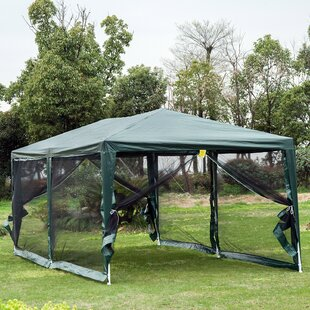 10 Ft. W x 20 Ft. D Metal Party Tent by Outsunny