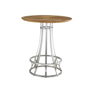 Tommy Bahama Outdoor Tres Chic Stainless Steel Bar Table