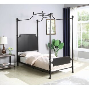 Stewartville Twin Canopy Bed