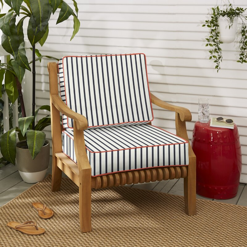 Longshore Tides Melon Indoor Outdoor Sunbrella Seat Back Cushion Wayfair