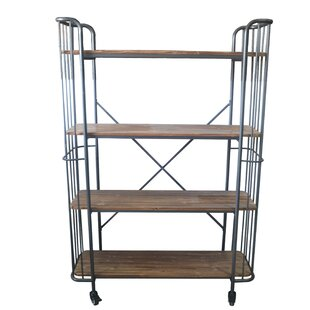 Clinkscales Etagere Bookcase by Williston Forge