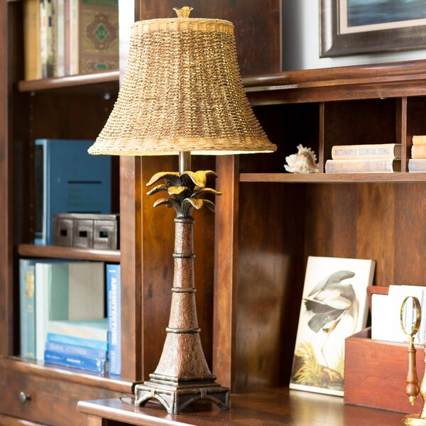 Bronze palm tree table lamp wayfair