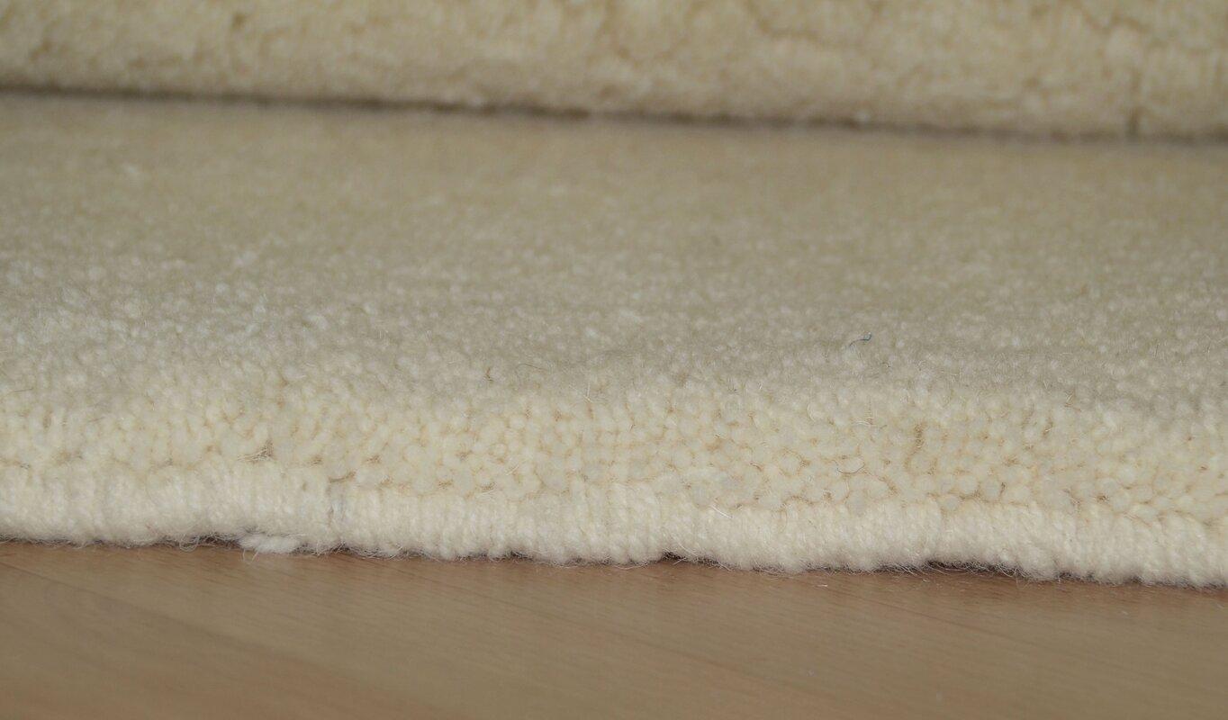 fj rde co geknoteter wolle teppich anton in beige bewertungen. Black Bedroom Furniture Sets. Home Design Ideas