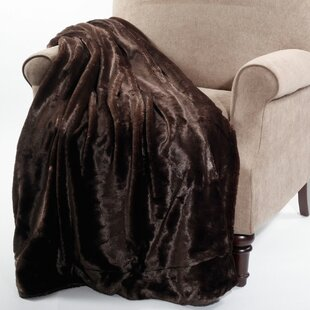 Chatwin Faux Fur Throw Blanket